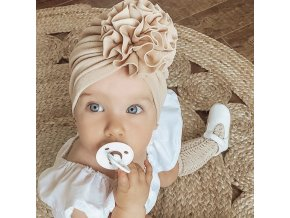 mainimage0Flower Baby Hat Toddler Turban 6m 18m Infant Headwraps Kids Bonnet Newborn Toddler Beanie Cap
