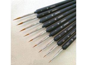 5 pcs miniature paint brush set professi main 0
