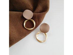 autumn winter new brown earrings vintage main 0