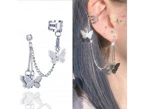 2020 fashion butterfly clip earrings ear main 0
