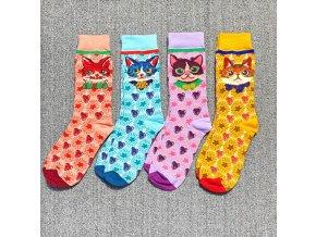 occident fashion colorful print socks wo main 3