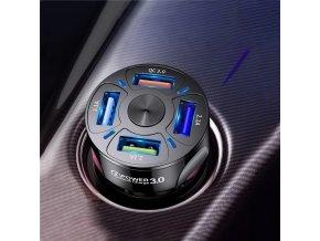 uslion 4 ports usb car charge 48 w quick main 0