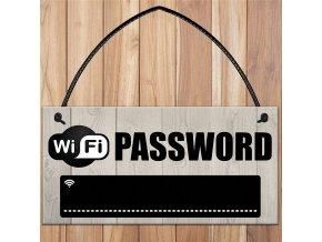 1 pcs wooden wi fi password sign chalkboar main 0