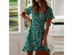 green women dresses summer 2020 sexy v neck fl variants 0