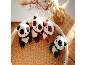 4 colors panda 12 cm approx plush stuffe main 1