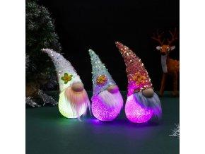 pasen tomte gnome decoraties pailletten main 0