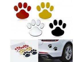 2 pcs set car sticker cool design paw 3 d main 0 (1)