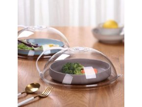 microwave oven food cover transparent an main 0