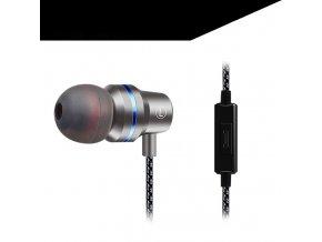 Silver duszake in ear headphones for xiaomi ear variants 2
