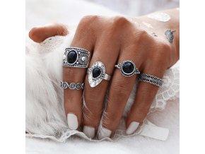 Vintage sada dámských prstenů