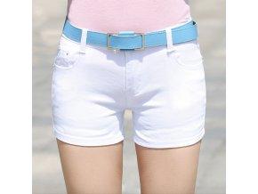 Letní dámské kraťasy bílé
