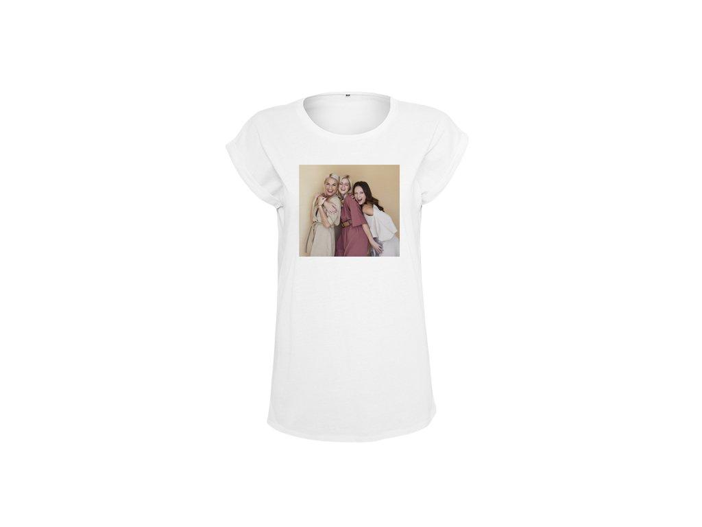 """3v1 Dámské bílé tričko """"barevná fotografie"""""""