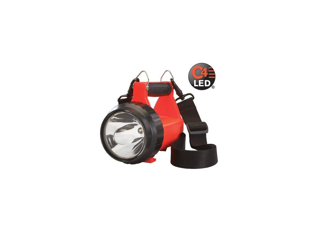 FIRE VULCAN LED STANDARD ruční nabíjecí hasičská LED svítilna 145lm