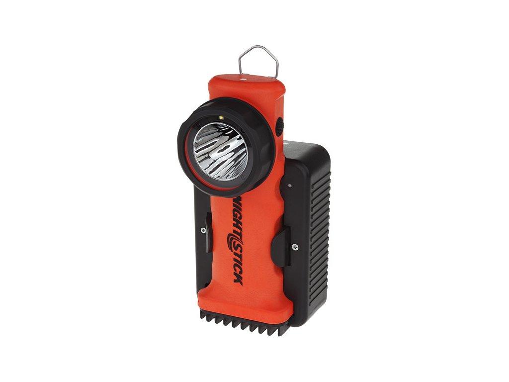 NIGHTSTICK hasičská svítilna; nabíjecí; ATEX oranžová