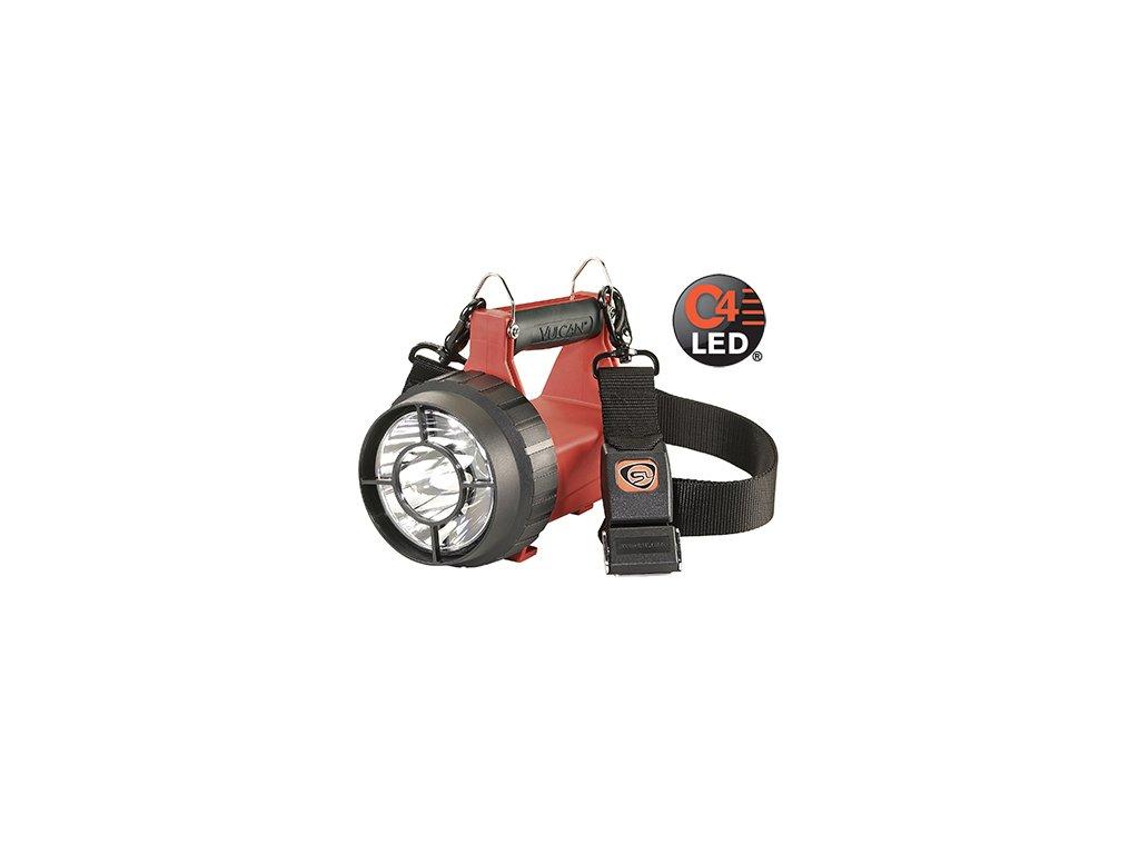 VULCAN LED ATEX Ruční nabíjecí hasičská LED svítilna 180lm přímá montáž 12V DC