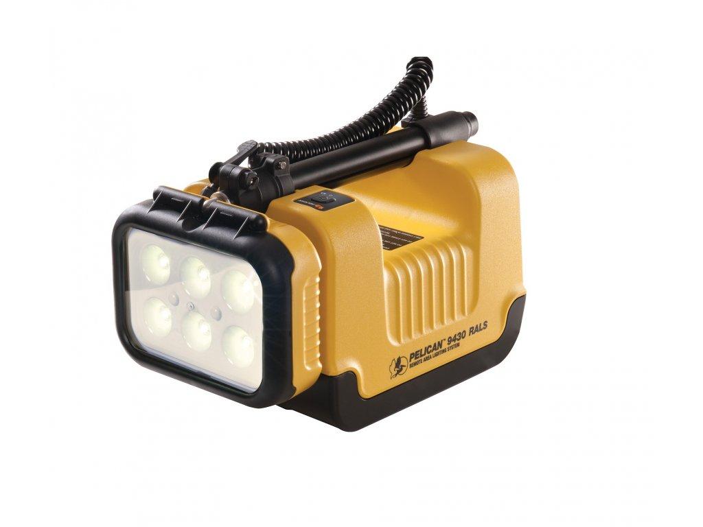 Svítilna PELI RALS 9430 žlutá nabíjecí