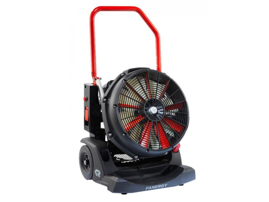 Rosenbauer - přetlakový ventilátor se světlem