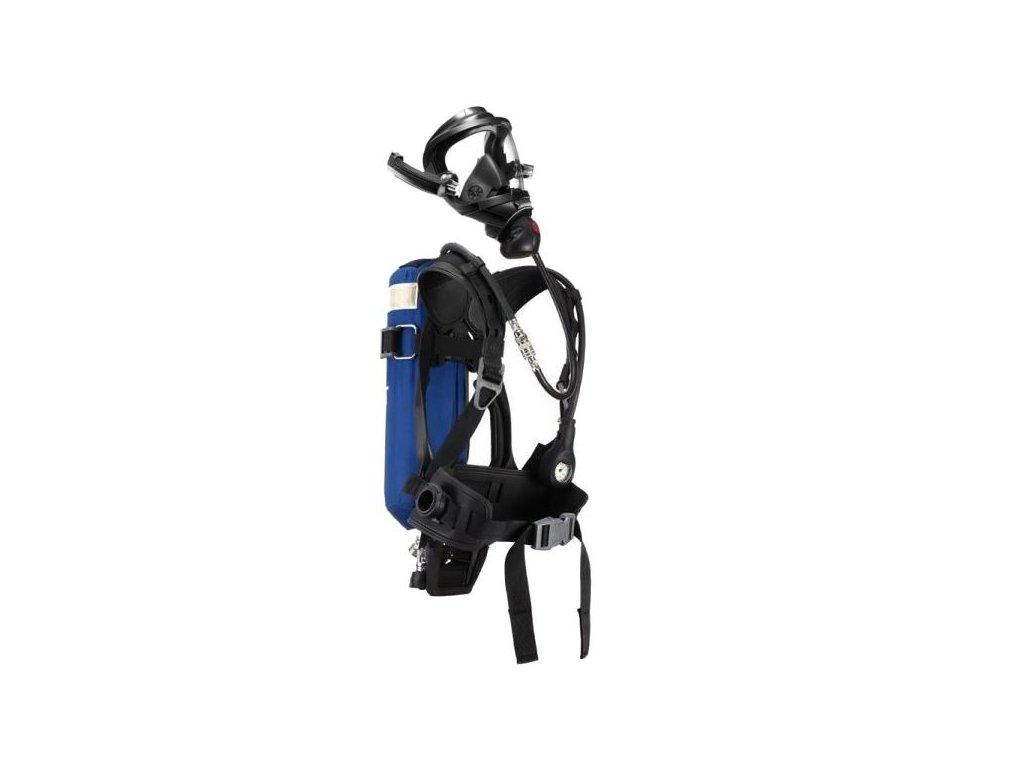 Dýchací přístroj DRAEGER PSS 4000 TX set-maska 7730 s kandahárem, lahev ocel 6L/300bar