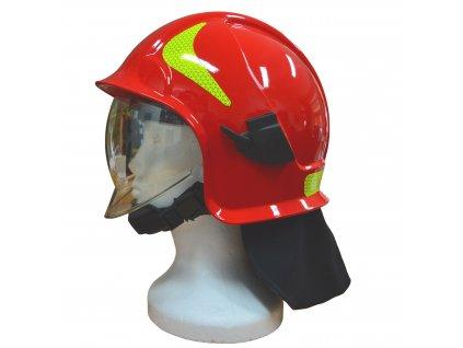 Přilba zásahová Vulkan CV102 T červená