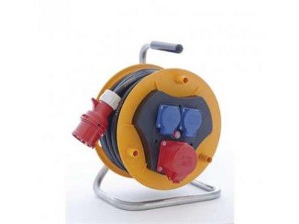 gumovy prodluzovaci kabel buben 3 zasuvky 25m i244295