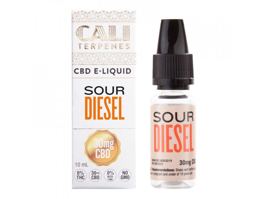 eliquid cbd sour diesel cali terpenes