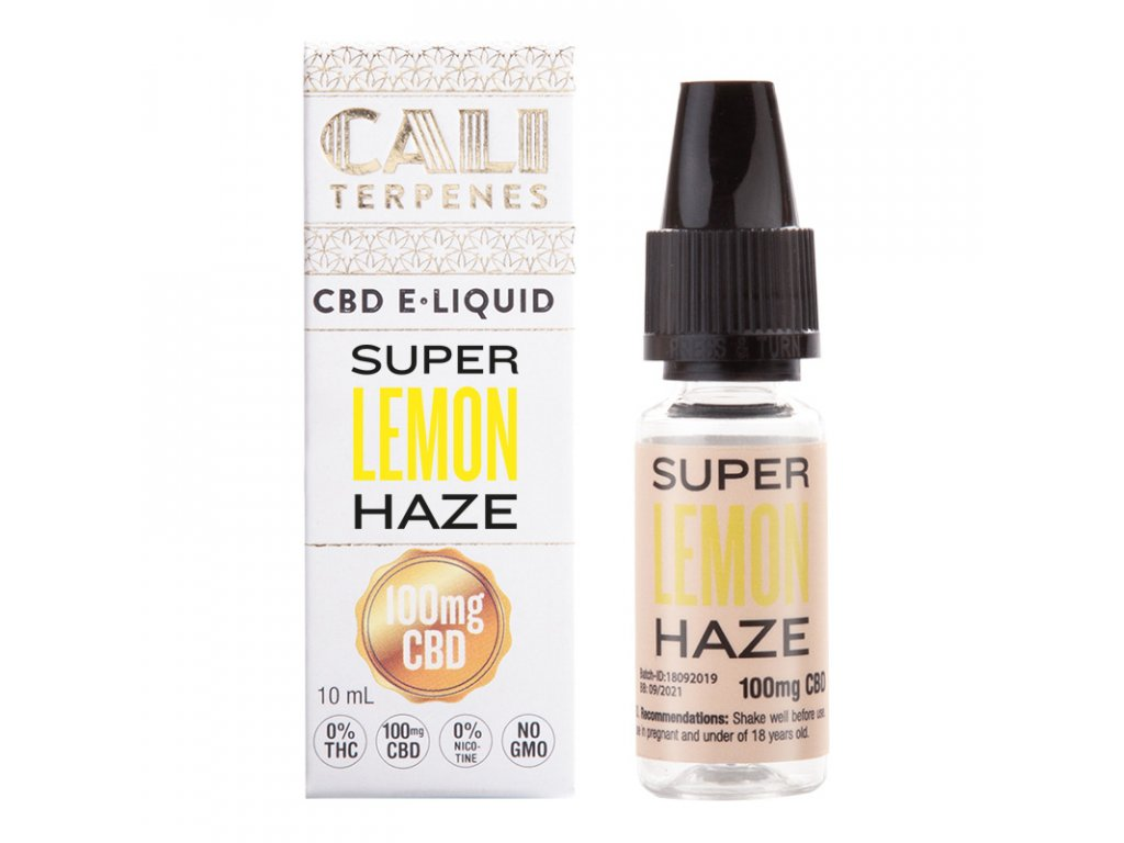eliquid cbd super lemon haze 100mg