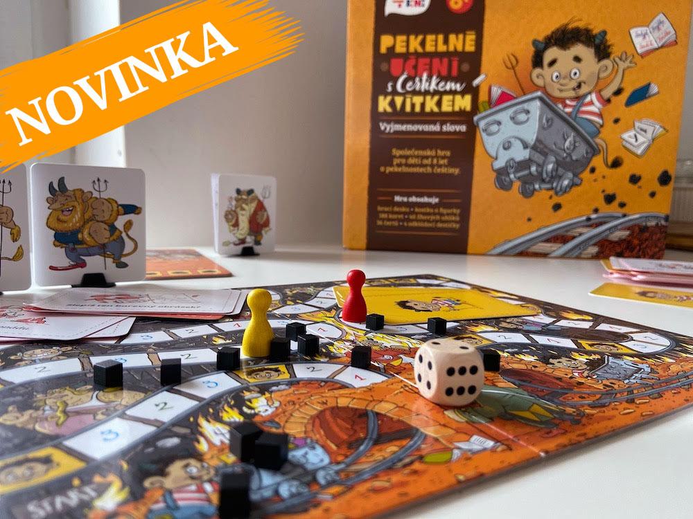 Nová hra Pekelné učení s Čertíkem Kvítkem je na světě!