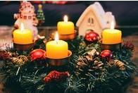 Dávej bacha i během vánočních svátků. Hořící svíčka může zkazit Vánoce!