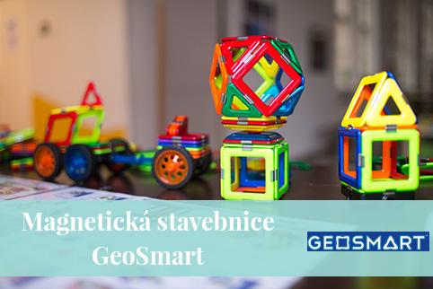 GeoSmart - magnetická stavebnice pro děti 5 - 10 let