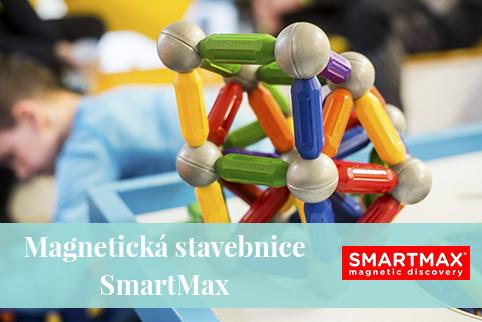 SmartMax - magnetická stavebnice pro nejmenší