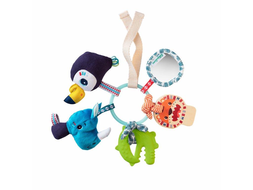Lilliputiens -senzorická hračka - džungle