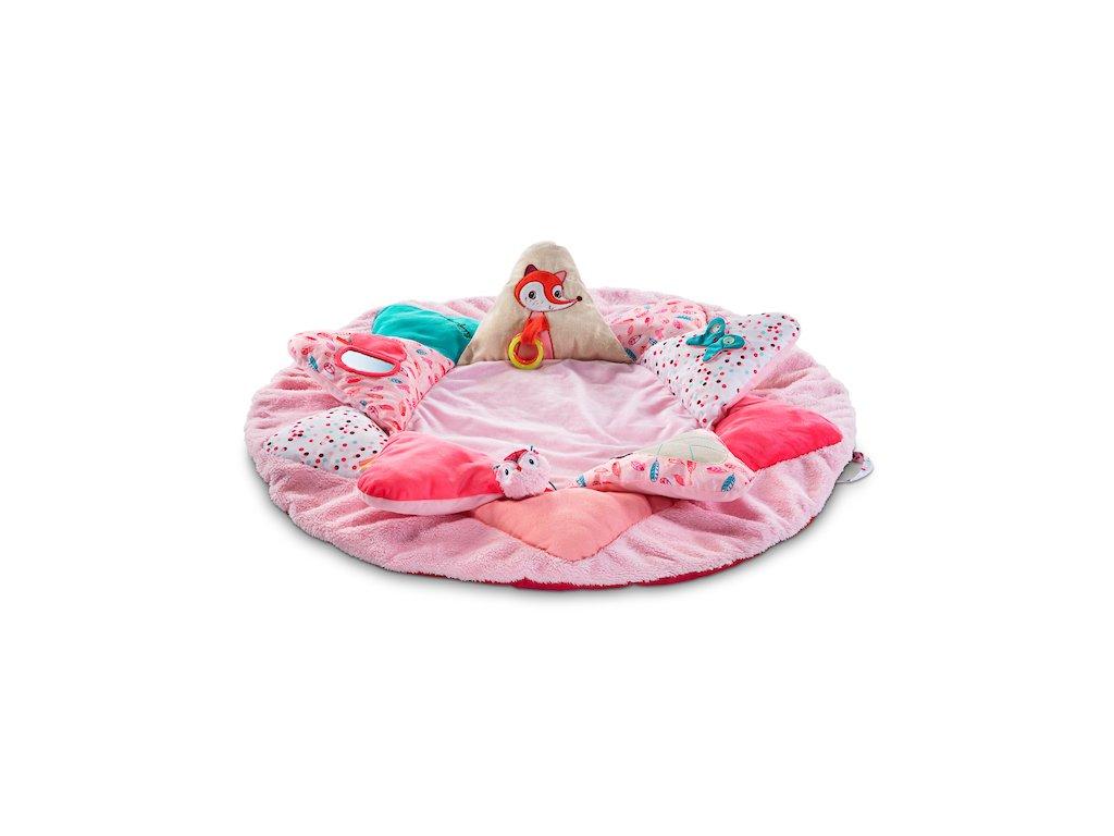 Lilliputiens - dětská hrací deka - jednorožec Louise