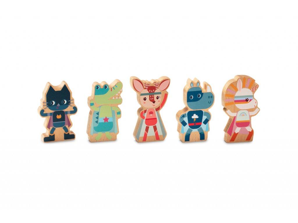 83290 Set of super heroes 1 BD