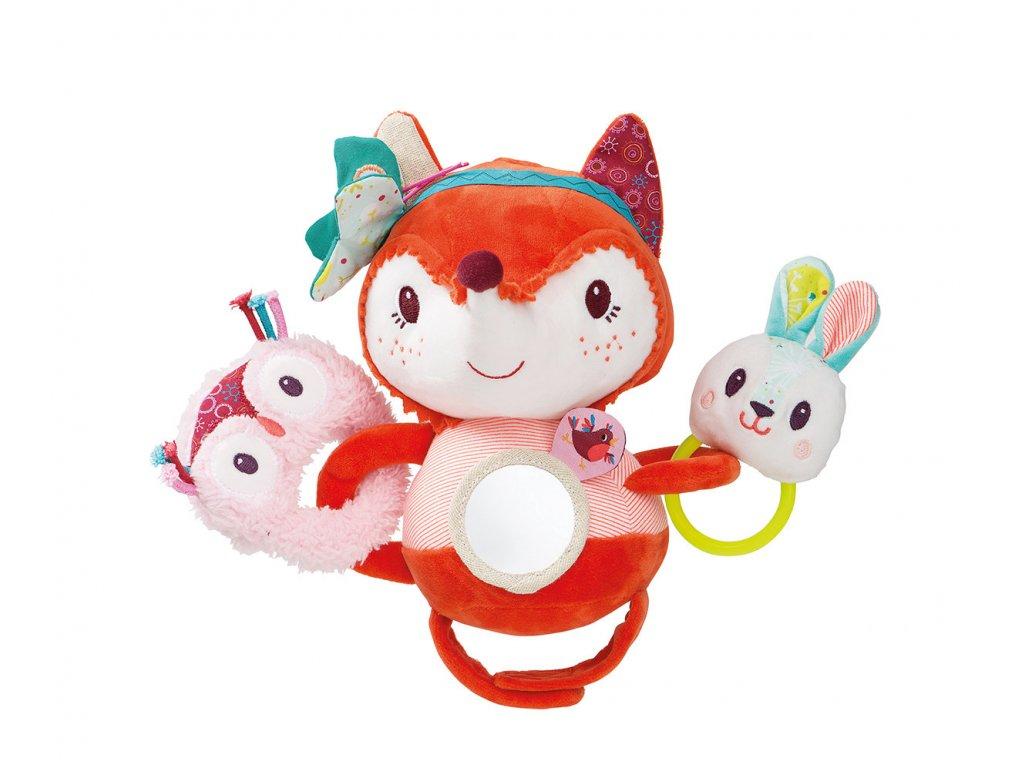 Lilliputiens - liška Alice - hračka na kočárek