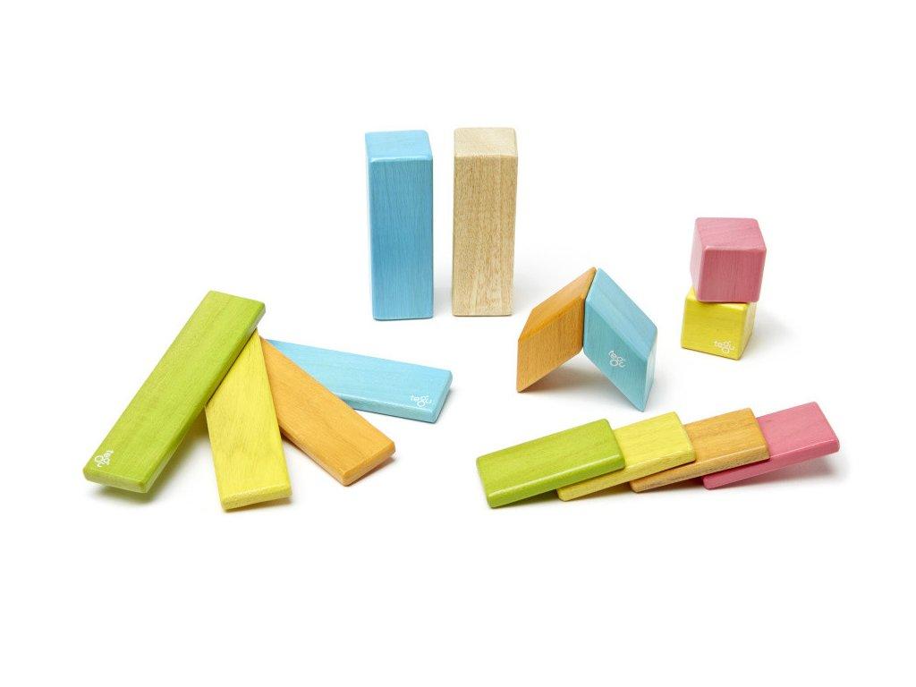 Magnetická stavebnice TEGU Tints 14 dílů1