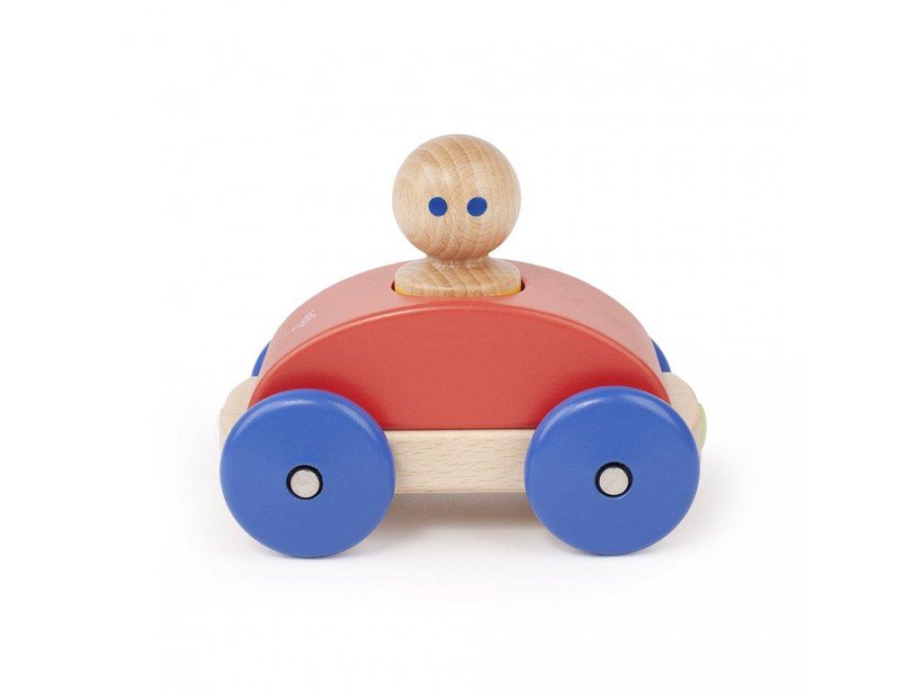 Magnetické autíčko TEGU Poppy & Blue Racer1