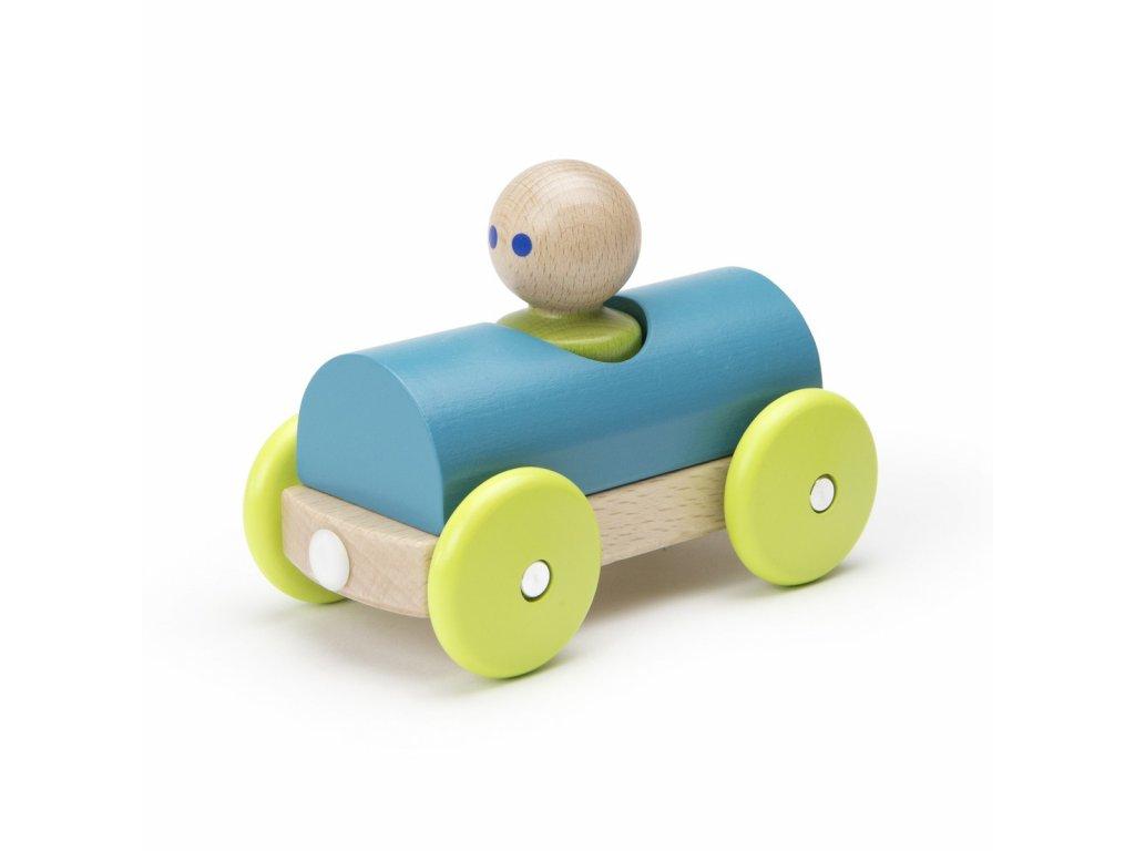 Magnetické autíčko TEGU Teal Racer1