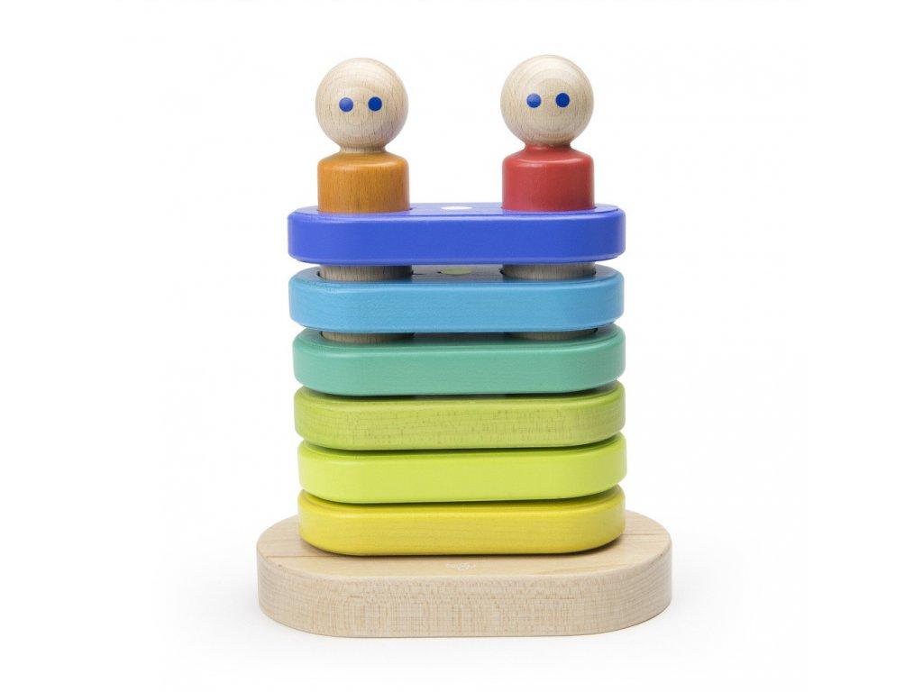 Magnetická plovoucí stohovací hračka TEGU1