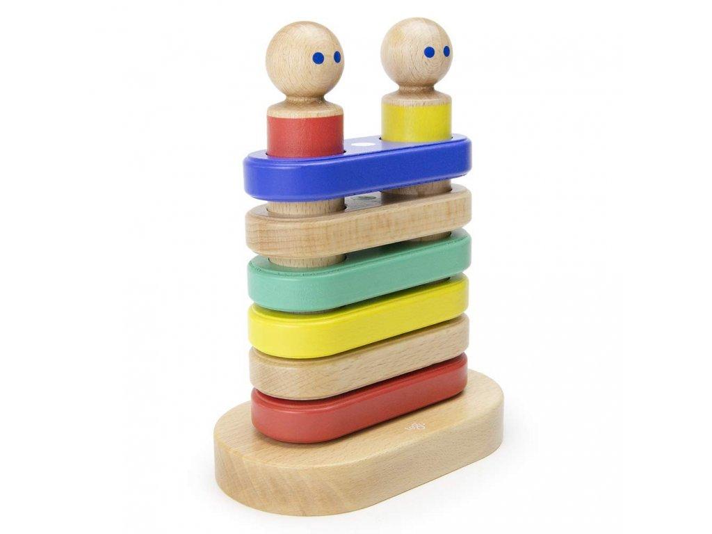 Magnetická stohovací hračka TEGU Big Top1