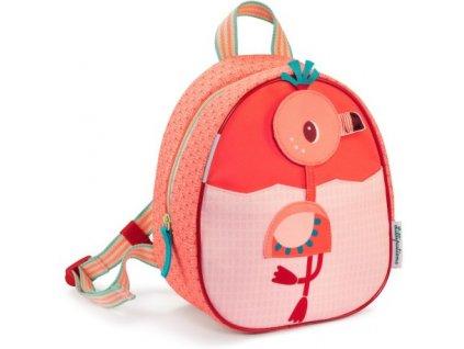 Lilliputiens - dětský batoh - plameňák Anais