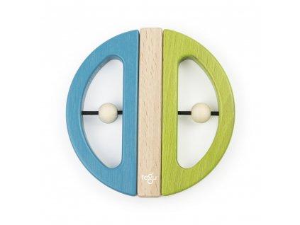 Magnetická hračka TEGU Swivel Bug Green & Teal1