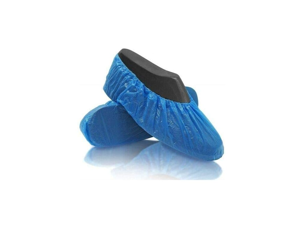 Jednorazové návleky na obuv modré 100ks balenie2