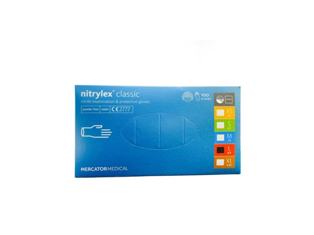 Mercator Medical Nitrylex Classic  100 ks M (7-8)