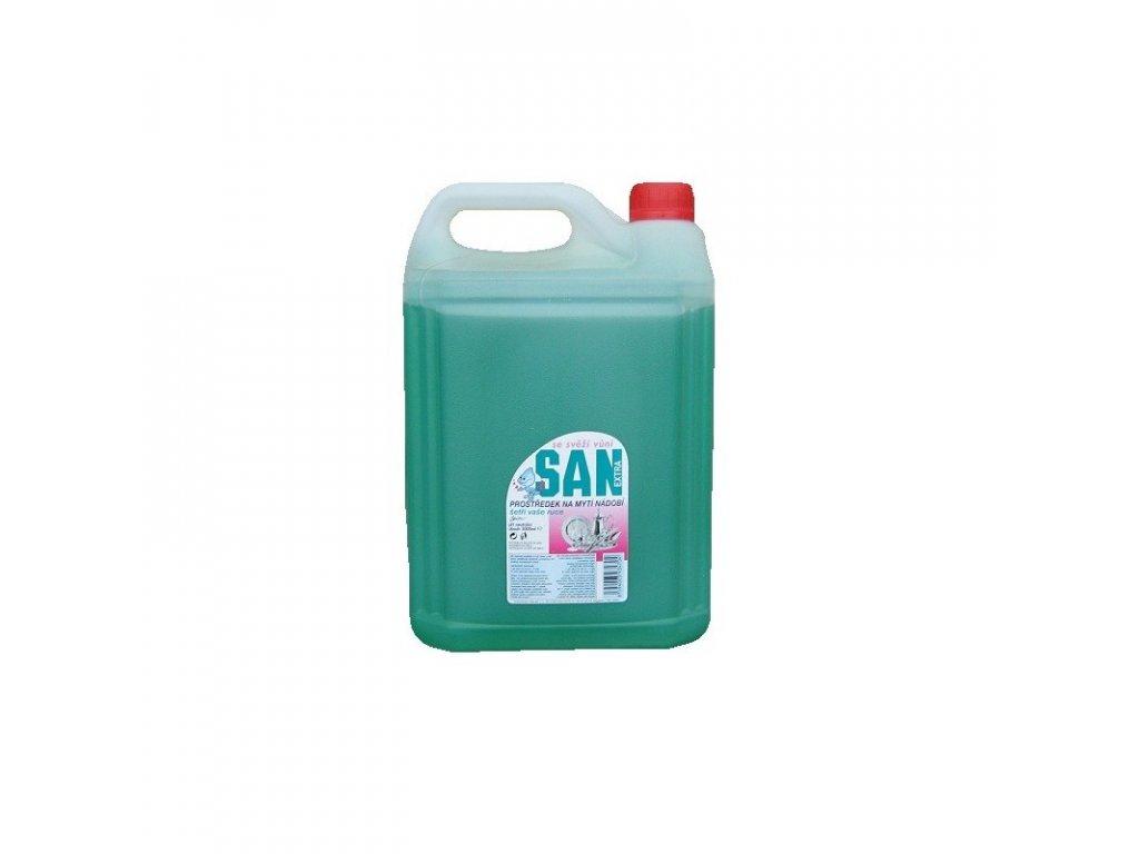 san extra na nadobi zeleny 5 litru