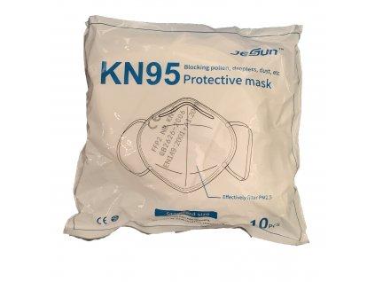 FFP2 KN95 Respirátor 10ks balenie - cena za kus 0,55€