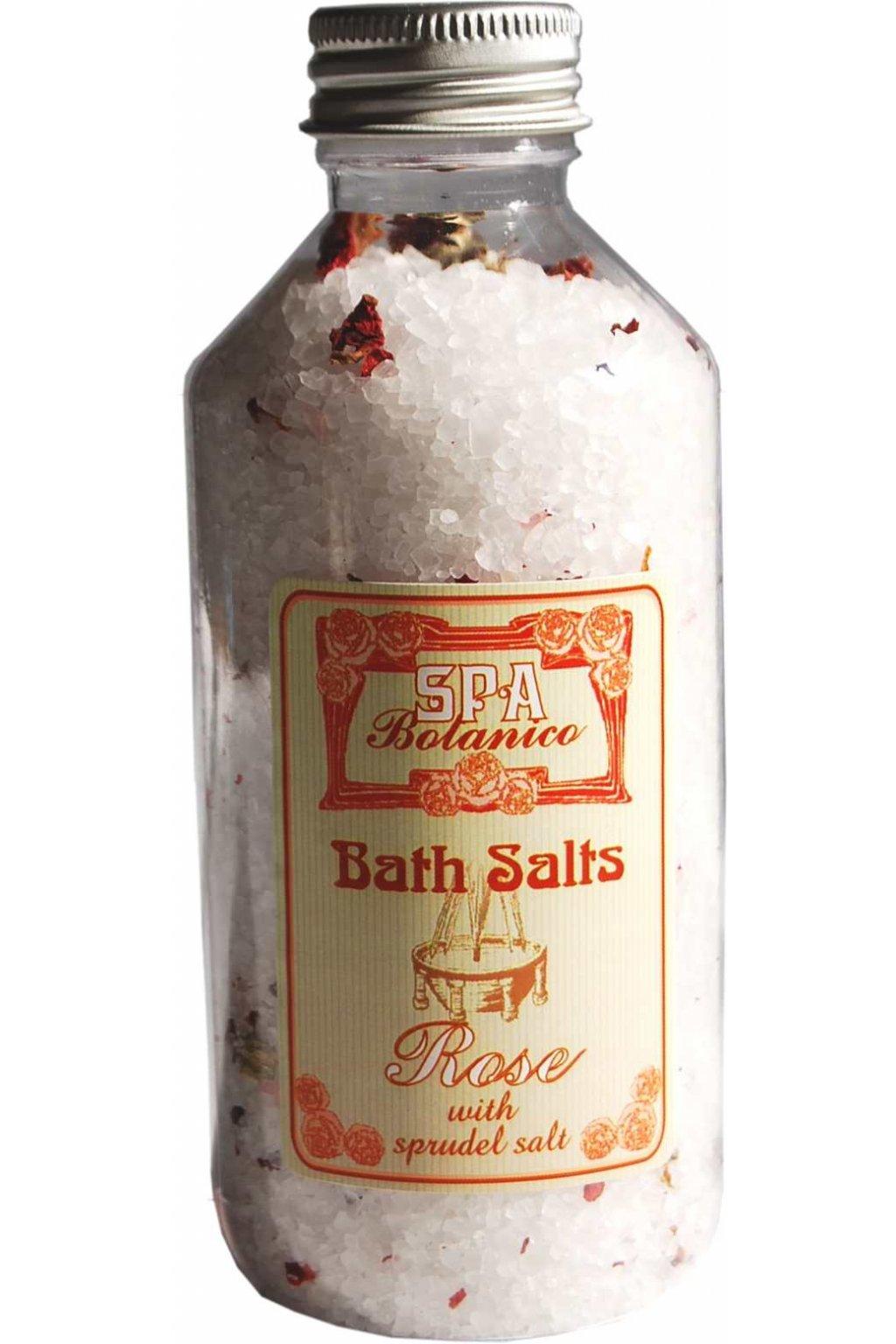 Botanico - Sůl do koupele SPA - růže - 250ml