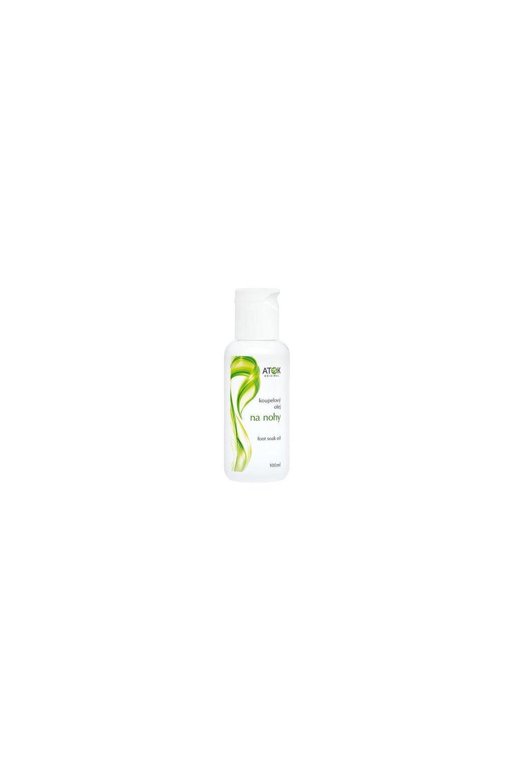 Atok koupelový olej na nohy (varianta 100ml)