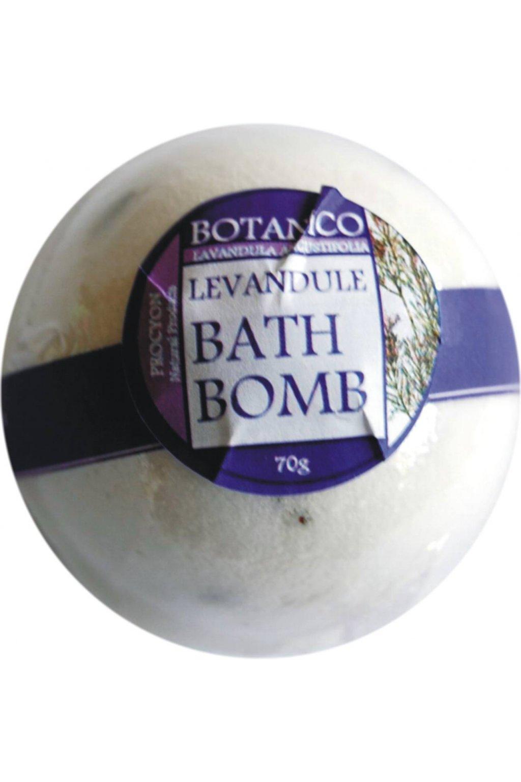 Botanico - Šumivá koupelová koule levandule - 70g