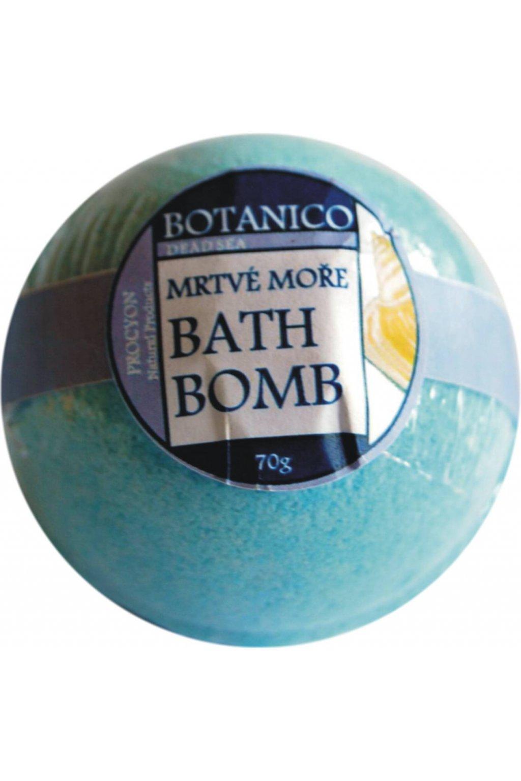 Botanico - Šumivá koupelová koule mrtvé moře - 50g