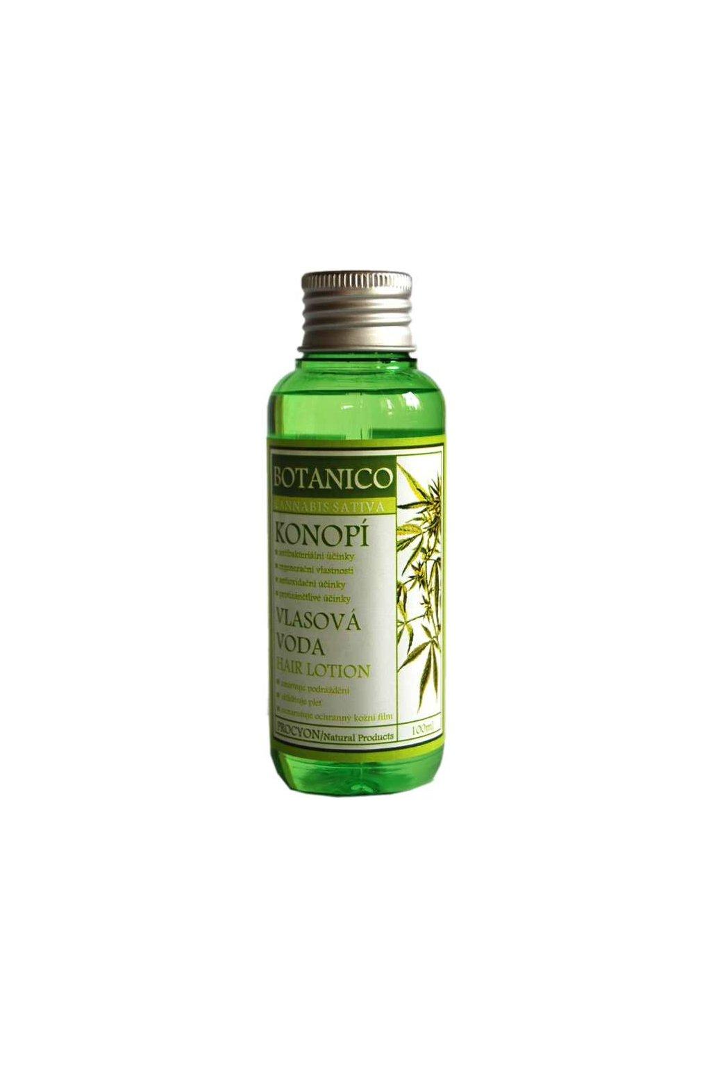 Botanico - Vlasová voda - Konopí - 100ml